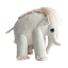 product-Bigstuffed Bigstuffed x Smallable Mammoth Plush Toy - 30cm