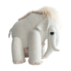 product-Bigstuffed Bigstuffed x Smallable Giant Mammoth Plush Toy - 45cm