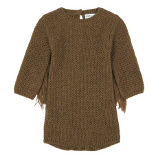 product-Maed For Mini Kangaroo Alpaca Knit Romper