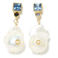 product-Anni Lu Pendientes Baroque Pearl Bling