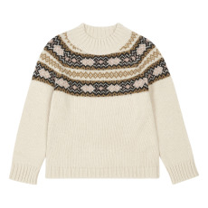 product-Babe & Tess Jacquard Sweater