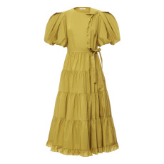 product-Ulla Johnson Robe Agathe Popeline de Coton