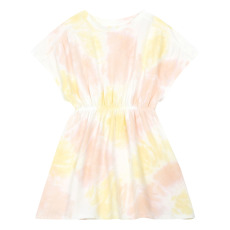 product-Hundred Pieces Organic Cotton Tie-dye Dress