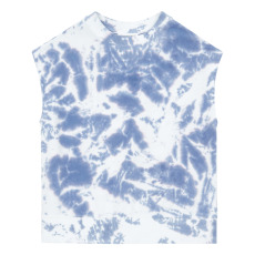 product-Hundred Pieces Felpa Tie&Dye in cotone bio