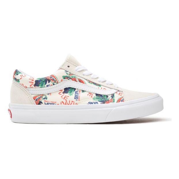 Sneakers Old Skool Spring Daze - Collezione Adulto - Ecru Vans