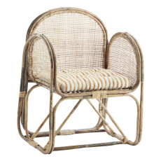 product-Madam Stoltz Canework Lounge Chair