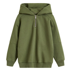 product-Bellerose Biekon Zipped Hooded Jumper