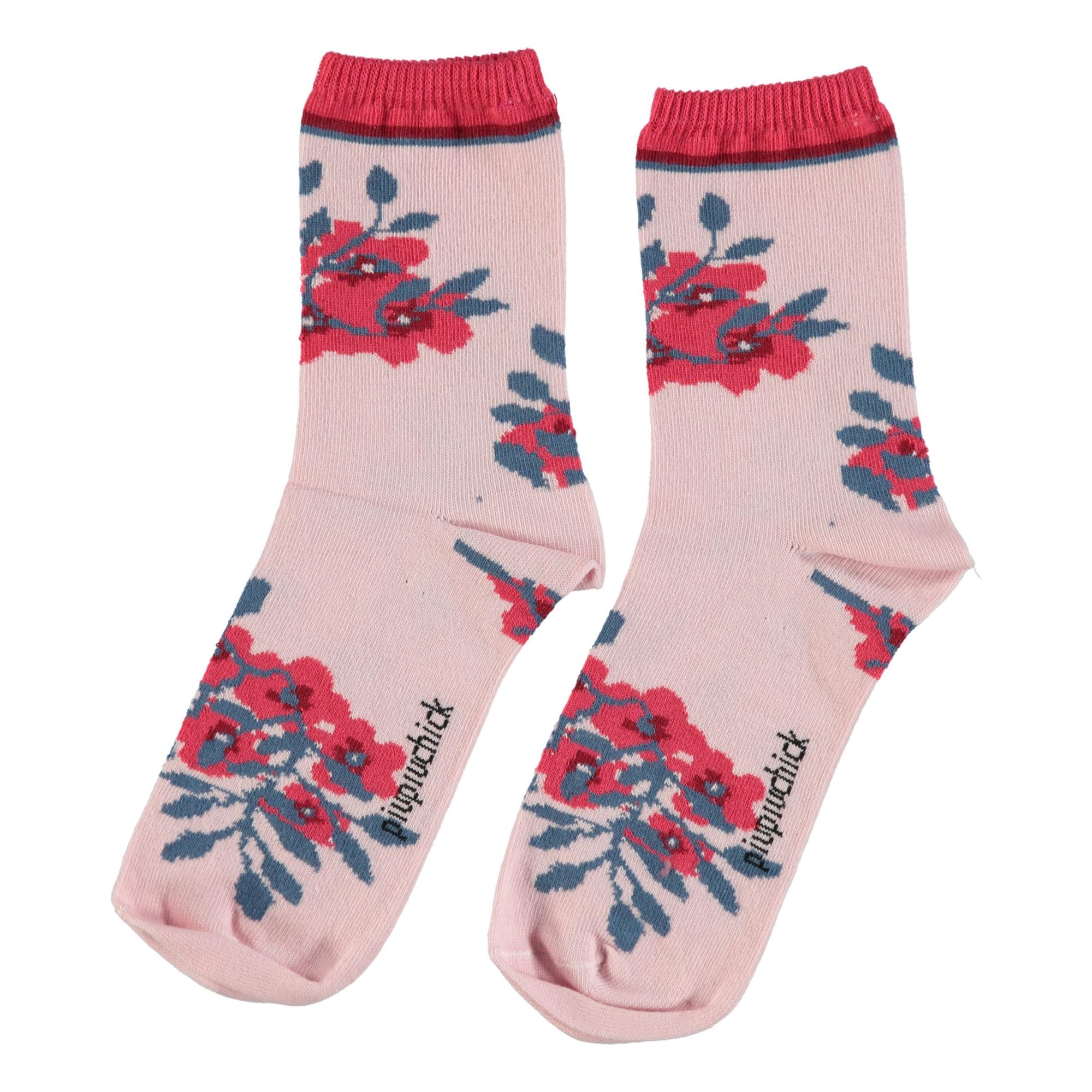 Chaussettes Fleurs