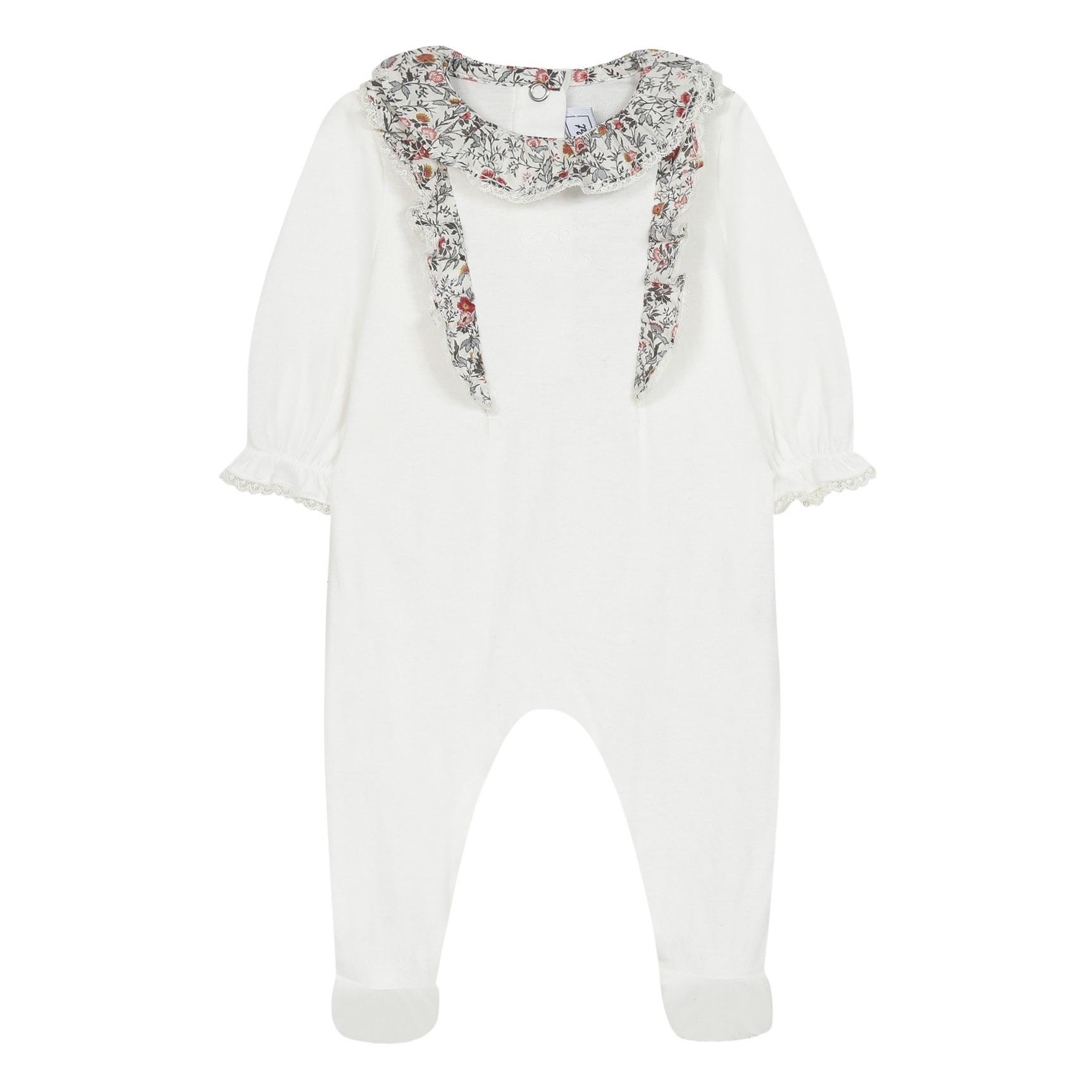 Pyjama à Pieds Coton Bio Liberty