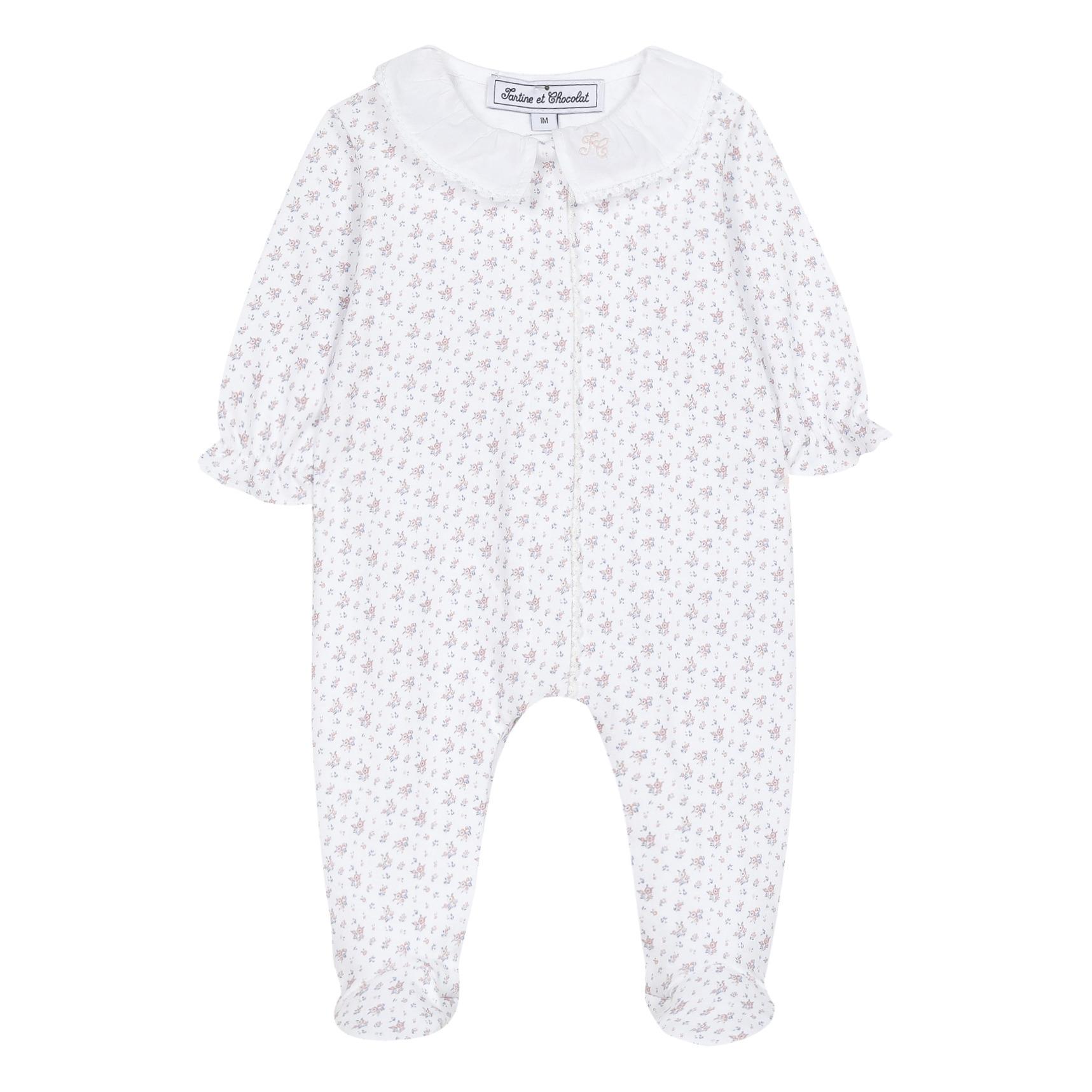 Pyjama à Pieds Fleuri