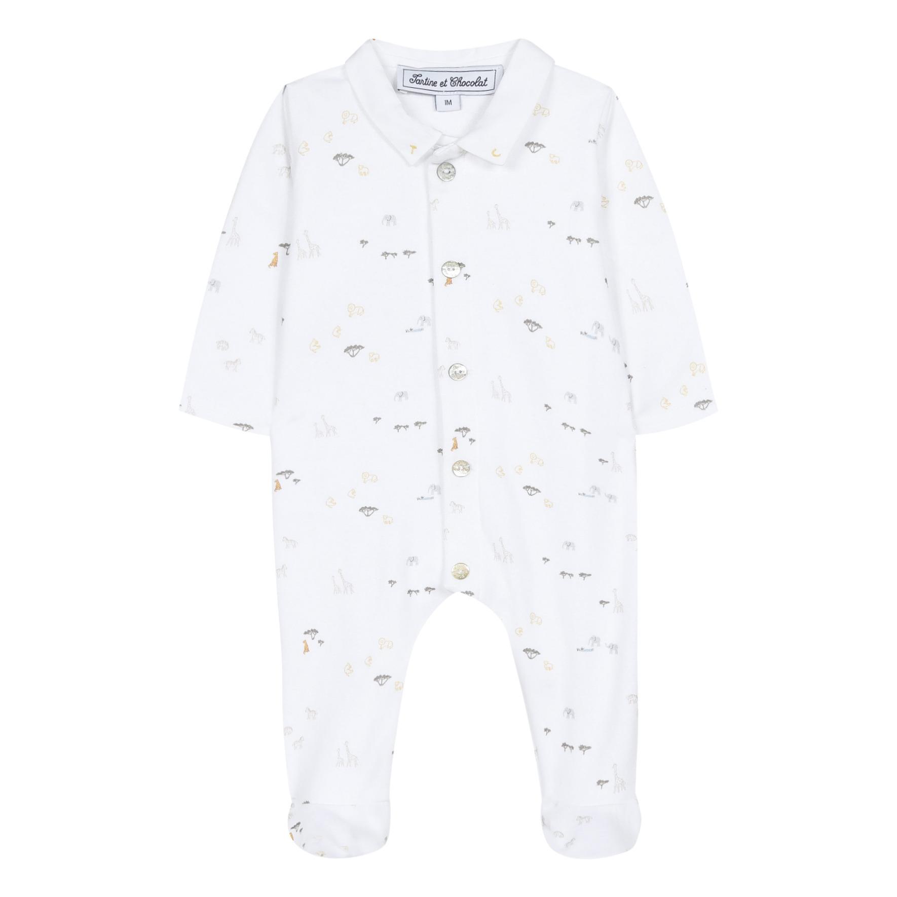 Pyjama à Pieds Savane