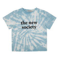 product-the new society Tie-dye Organic Cotton T-shirt