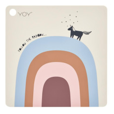 product-Oyoy Follow the Rainbow Silicone Placemat