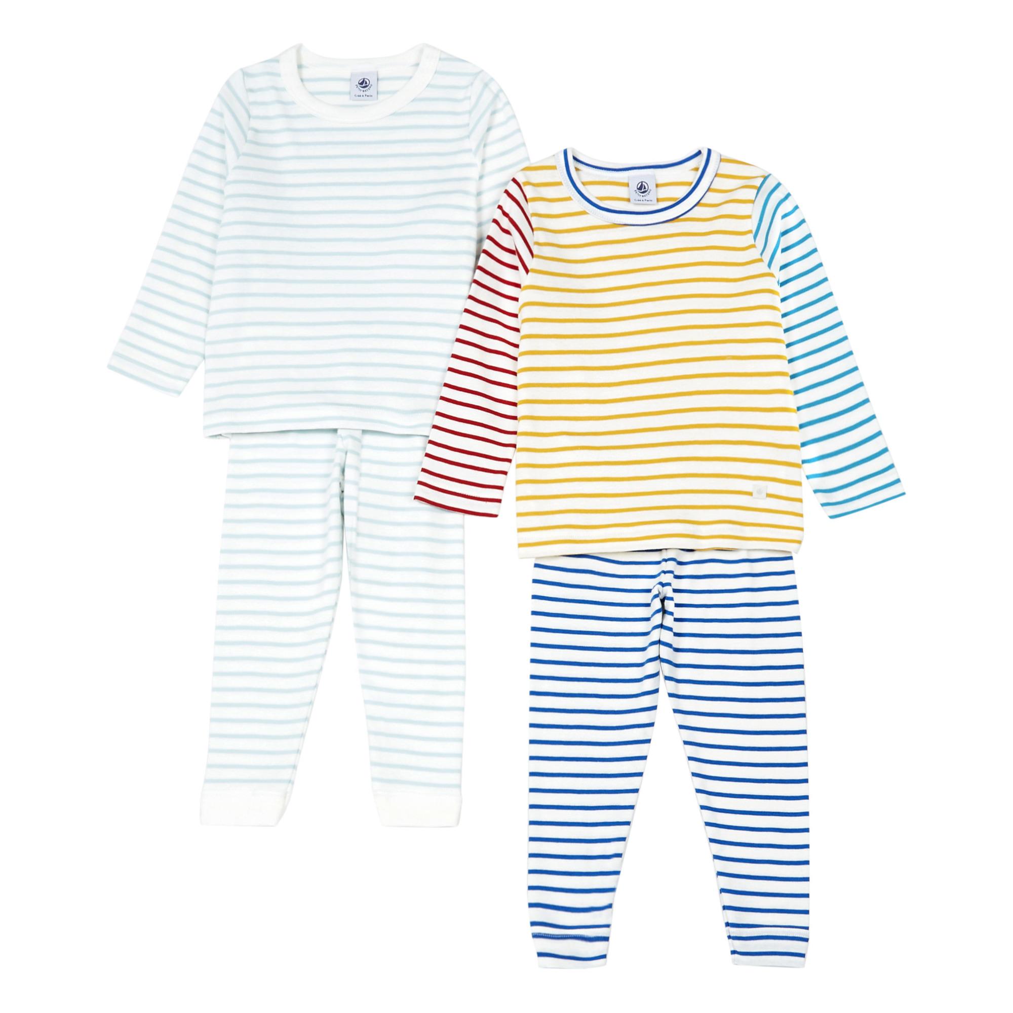 Borlai Ensemble Pyjama No/ël V/êtement de Nuit Parent-Enfant Pyjama No/ëL Manches Longues Top et Pantalon Famille Pyjamas