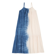 product-Longlivethequeen Tie-dye Organic Cotton Dress