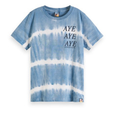 product-Scotch & Soda Camiseta Tie & Dye algodón orgánico
