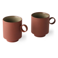 product-HKliving Keramiktasse - 2er-Set