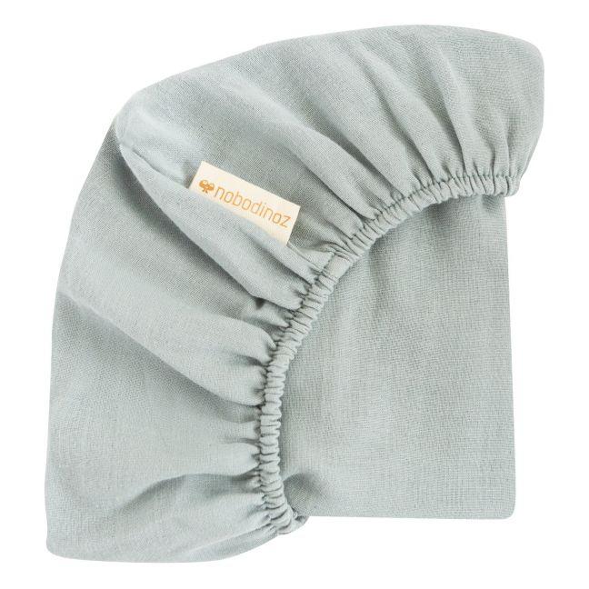 Lenzuoli con angoli cotone bio - 2 pz. Bianco Leander Design