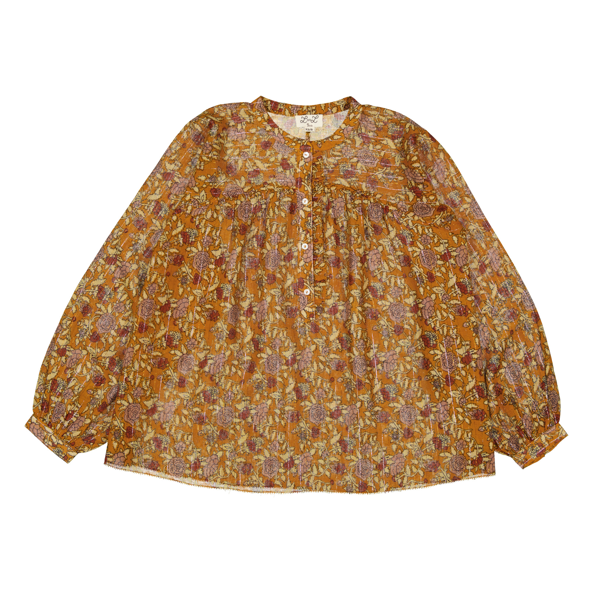 Blouse Manches Bouffantes - Collection Femme -