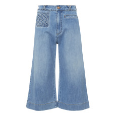 product-See by Chloé Falda-Pantalón Denim