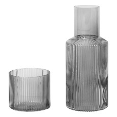 product-Ferm Living Carafe Ripple Set - 500 ml