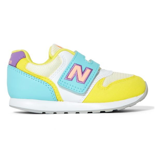 Sneakers 996 Scratchs Giallo New Balance Scarpe Bebè , Bambino
