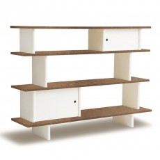 product-Oeuf NYC Mini Walnut Bookcase