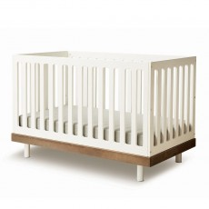 product-Oeuf NYC Classic convertible bed 0 - 6 years - Walnut
