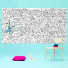 product-Omy Paris Giant Colouring Poster