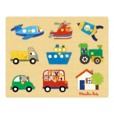 product-Moulin Roty Transport puzzle
