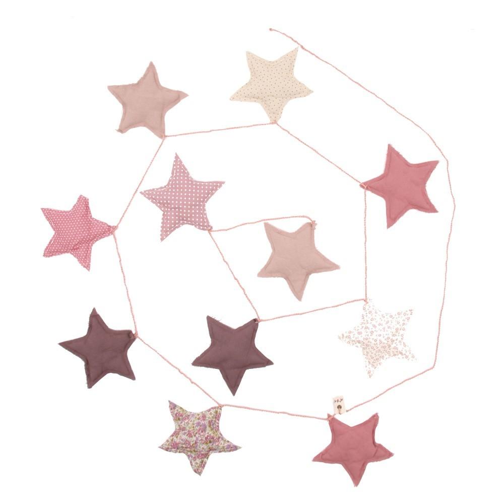 Girlande Sterne rosa Must-Have, Offer 6848