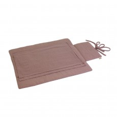product-Numero 74 Travel changing mat - dusky pink