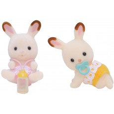 product-Sylvanian Chocolate Rabbits Twin Babies