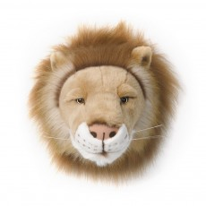 product-Wild & Soft Lion trophy soft toy