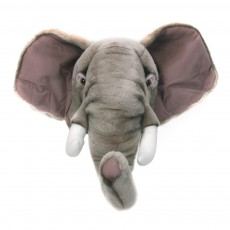 product-Wild & Soft Elephant Wall Mount soft toy