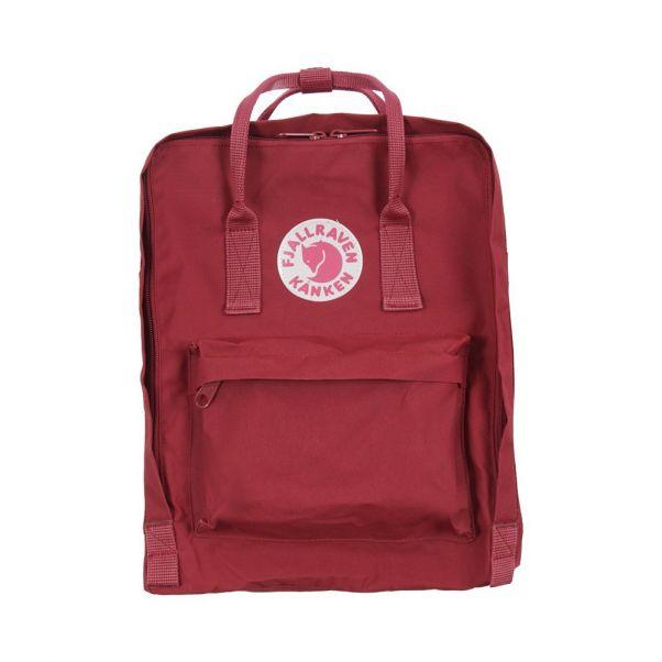Kanken Backpack Dark Red Fjallraven Fashion Teen Children