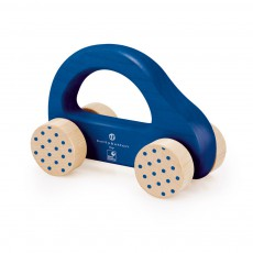 product-Selecta Wooden car - blue