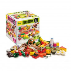 product-Erzi 43-piece wooden market set