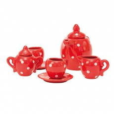 product-Moulin Roty Tea set in spotted case.