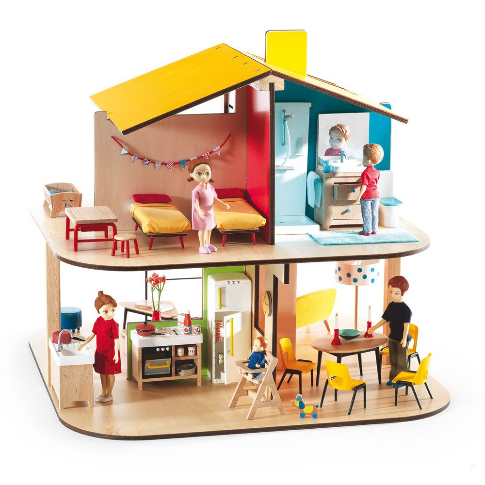 Color House Dolls House Djeco Toys And Hobbies Children