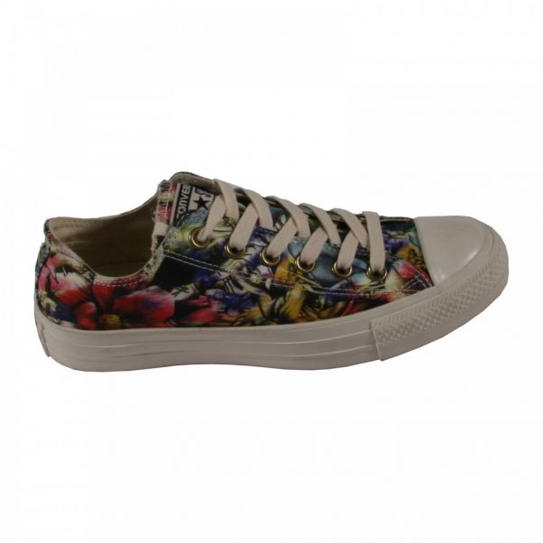fed3fce5252 Floral Print trainers Multicoloured Converse Shoes Teen