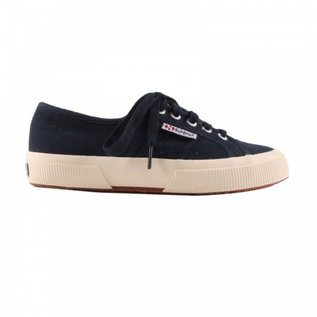 68f6bcd98641bd 2750 Cotu Classic Lace-up Trainers Navy blue Superga Shoes Adult