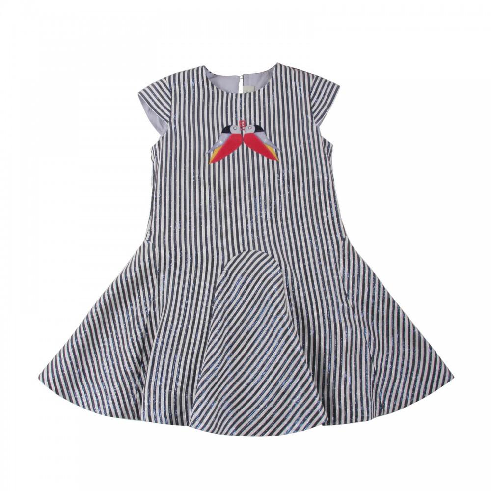 Gestreiftes Vogel Kleid Must-Have Vorschlag 9835