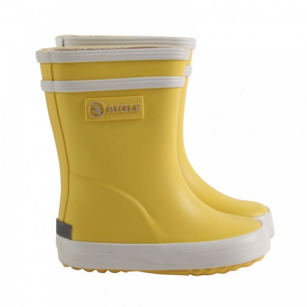 0655f9736e5 Baby Flac rainboots Yellow Aigle Shoes Baby