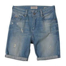 product-Scotch & Soda Denim Bermuda Shorts