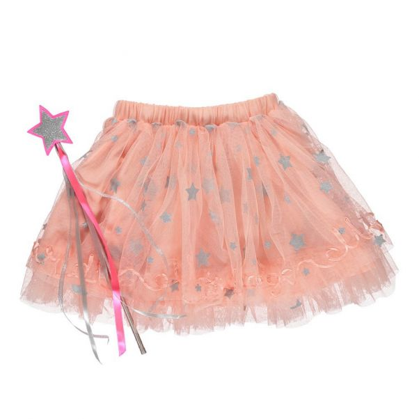 Jupon Etoiles Tulle Rose Billieblush Mode Enfant 248dc1c7e7c8