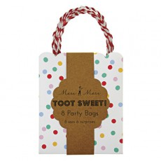 product-Meri Meri Toot Sweet Dots gift bags - set of 8