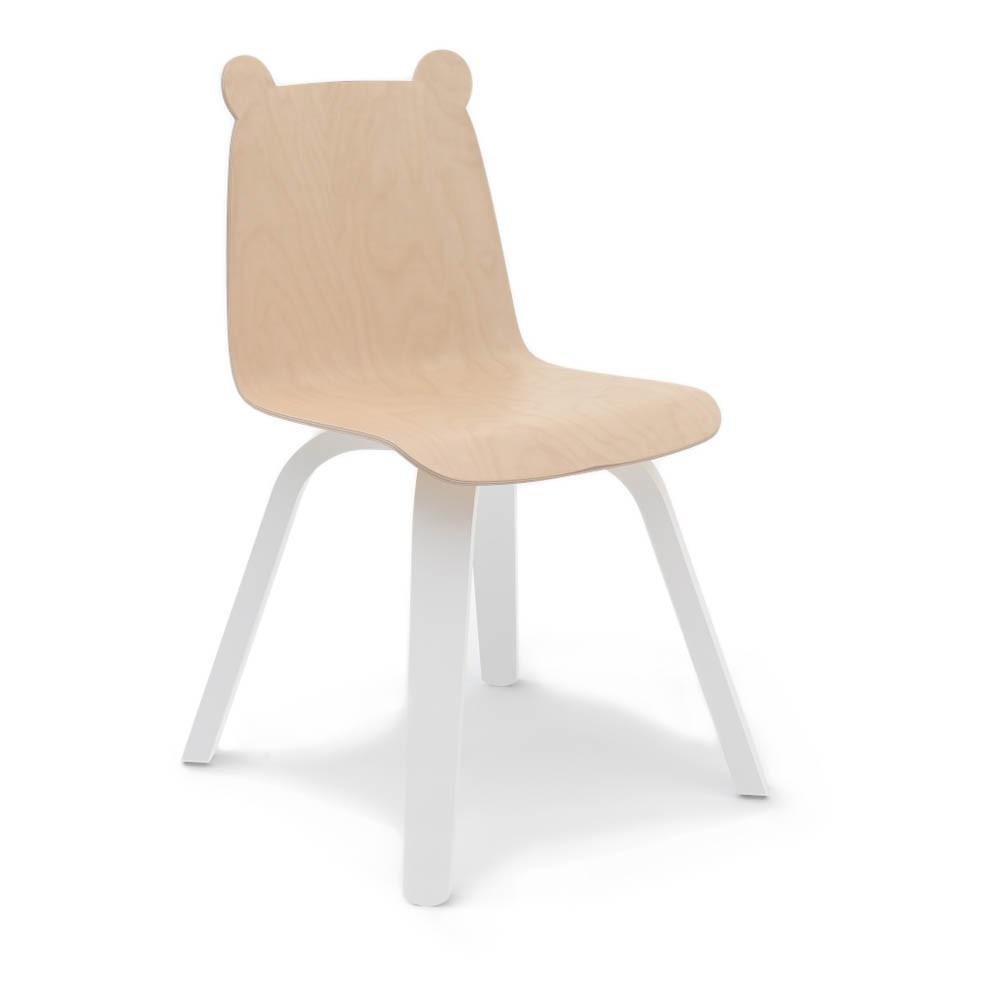 Oeuf Nyc Bear Birch Play Chairs - Set Of 2