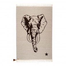 product-Varanassi Gypsy Cotton Rug - Elephant