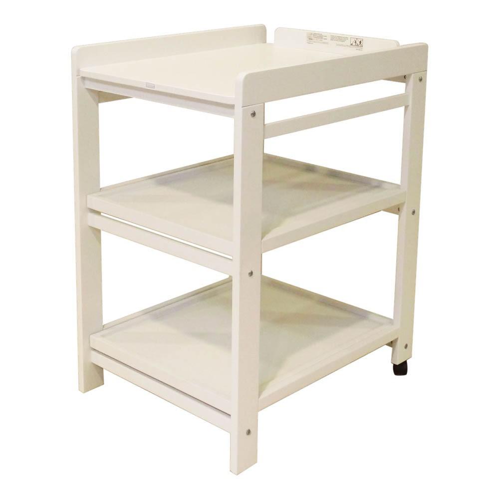 wickeltisch komfort abnehmbare regalbretter weiß quax design